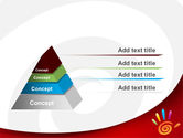 Colorful Palmprint PowerPoint Template#12