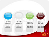 Colorful Palmprint PowerPoint Template#5
