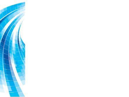 Light Blue Stripes PowerPoint Template, Slide 3, 08775, Abstract/Textures — PoweredTemplate.com