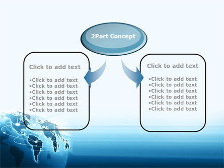 Aerial Connection PowerPoint Template, Slide 4, 08776, Global — PoweredTemplate.com