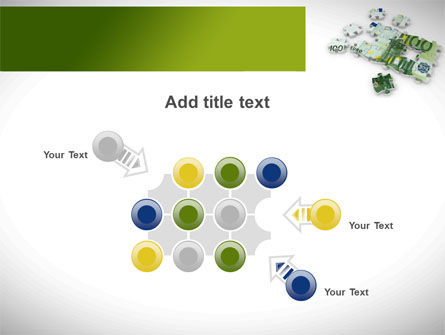 Euro Puzzle PowerPoint Template Slide 10