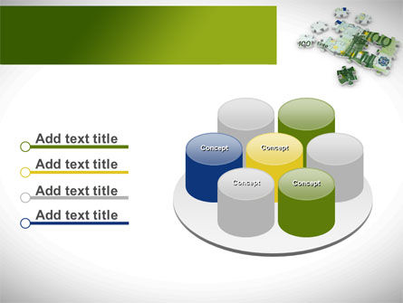 Euro Puzzle PowerPoint Template Slide 12