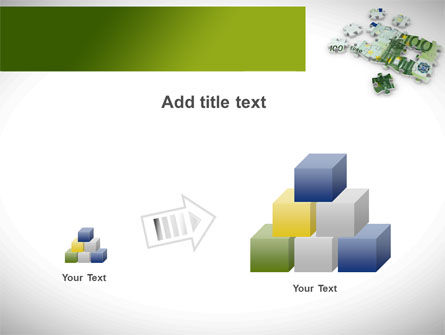 Euro Puzzle PowerPoint Template Slide 13