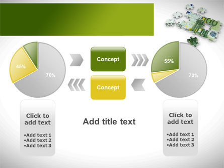Euro Puzzle PowerPoint Template Slide 16
