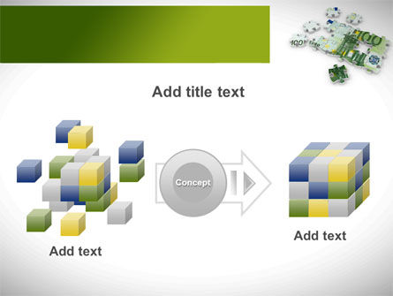 Euro Puzzle PowerPoint Template Slide 17