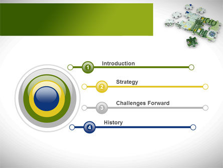 Euro Puzzle PowerPoint Template Slide 3