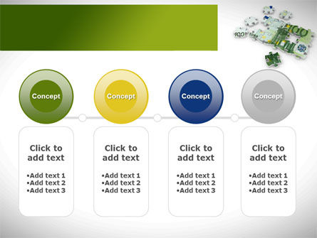 Euro Puzzle PowerPoint Template Slide 5
