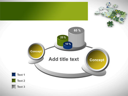 Euro Puzzle PowerPoint Template Slide 6