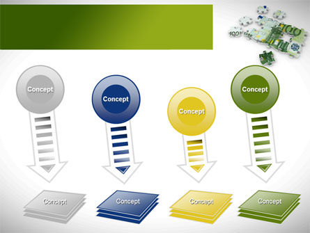Euro Puzzle PowerPoint Template Slide 8