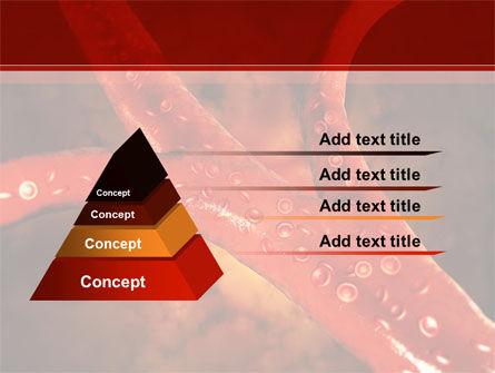 Blood Vessels PowerPoint Template, Slide 4, 08778, Medical — PoweredTemplate.com