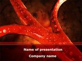 Medical: Templat PowerPoint Pembuluh Darah #08778