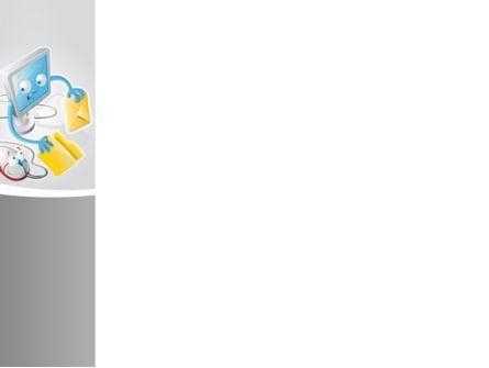 Via E-mail PowerPoint Template, Slide 3, 08779, Telecommunication — PoweredTemplate.com