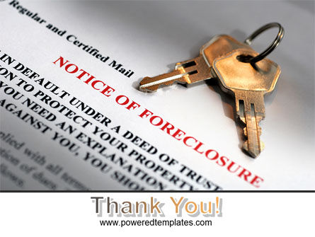 Notice Of Foreclosure PowerPoint Template Slide 20