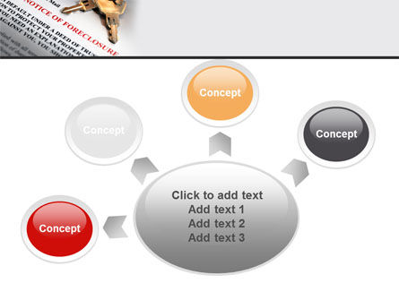 Notice Of Foreclosure PowerPoint Template Slide 7