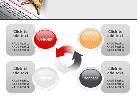 Notice Of Foreclosure PowerPoint Template Slide 9