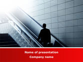 Business: Way Up PowerPoint Template #08784