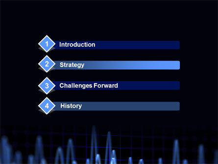 Oscillography PowerPoint Template Slide 3