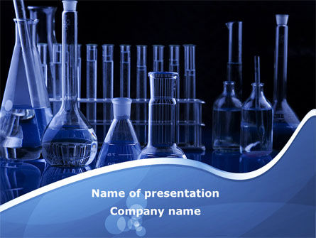 Laboratory Equipment PowerPoint Template, 08789, Technology and Science — PoweredTemplate.com