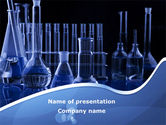 Technology and Science: Laboratory Equipment PowerPoint Template #08789