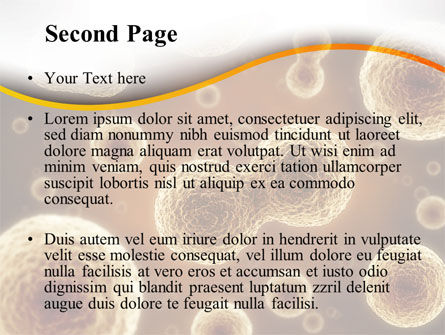 Cell Meiosis PowerPoint Template Slide 2