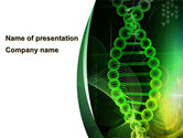 Medical: Deoxyribonucleic Acid PowerPoint Template #08795