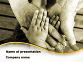 Religious/Spiritual: Family Ties PowerPoint Template #08796