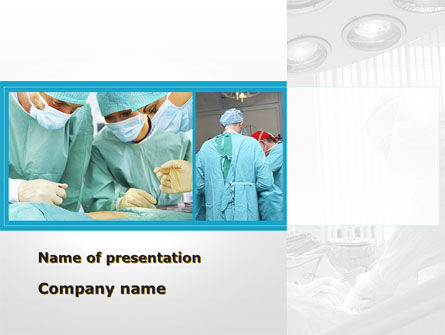 Medical: Vascular Surgery PowerPoint Template #08802