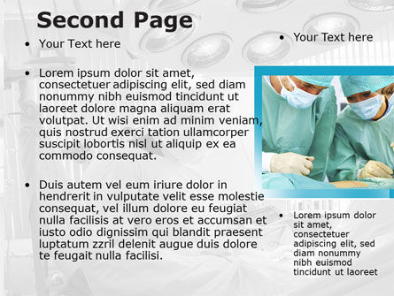 Vascular Surgery PowerPoint Template, Slide 2, 08802, Medical — PoweredTemplate.com