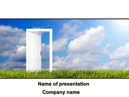 Consulting: New Opportunities PowerPoint Template #08803