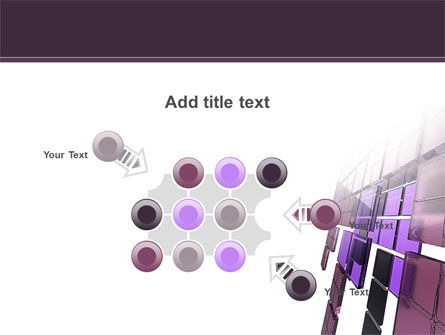 Purple Glass PowerPoint Template Slide 10