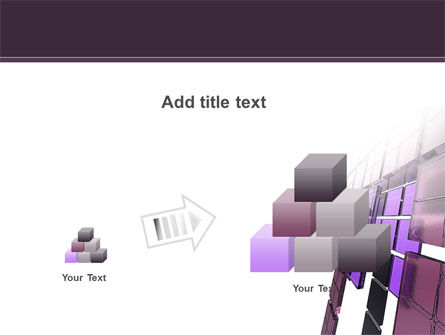 Purple Glass PowerPoint Template Slide 13