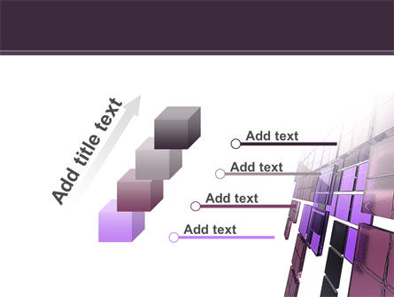 Purple Glass PowerPoint Template Slide 14