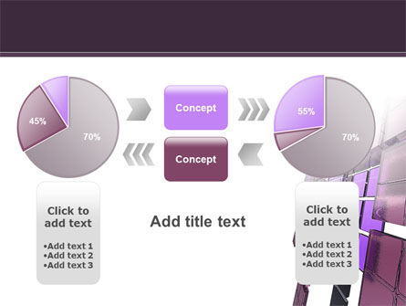 Purple Glass PowerPoint Template Slide 16