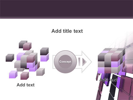 Purple Glass PowerPoint Template Slide 17