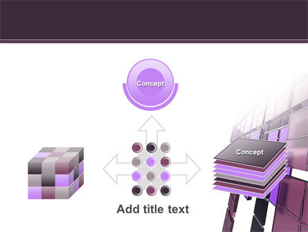 Purple Glass PowerPoint Template Slide 19