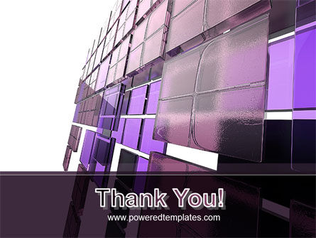 Purple Glass PowerPoint Template Slide 20