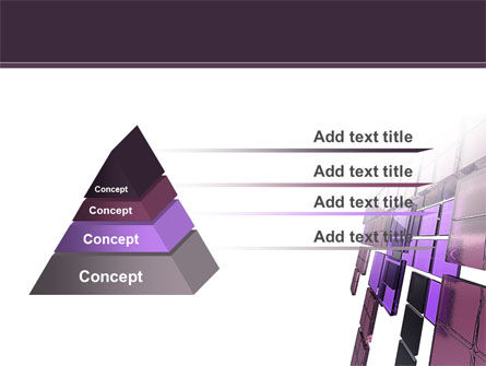 Purple Glass PowerPoint Template Slide 4