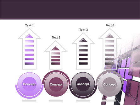 Purple Glass PowerPoint Template Slide 7