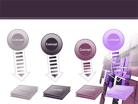 Purple Glass PowerPoint Template Slide 8