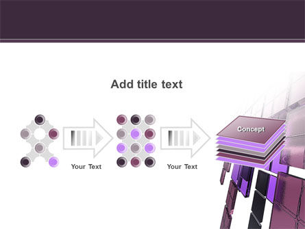 Purple Glass PowerPoint Template Slide 9