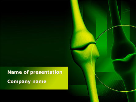 Medical: Joint Picture PowerPoint Template #08805