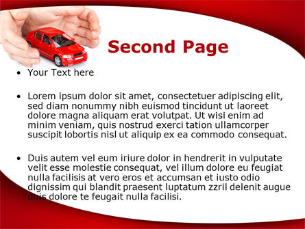 Private Car Insurance PowerPoint Template Slide 2