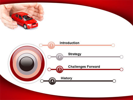 Private Car Insurance PowerPoint Template Slide 3