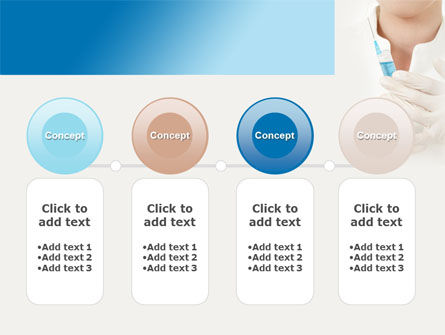 Nurse With Squirt PowerPoint Template Slide 5