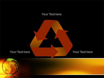 Crystalline World PowerPoint Template Slide 10
