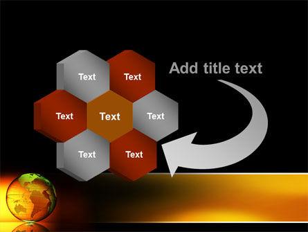 Crystalline World PowerPoint Template Slide 11