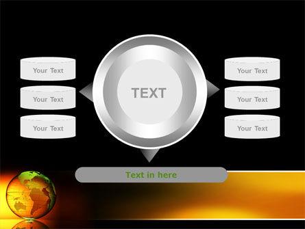 Crystalline World PowerPoint Template Slide 12