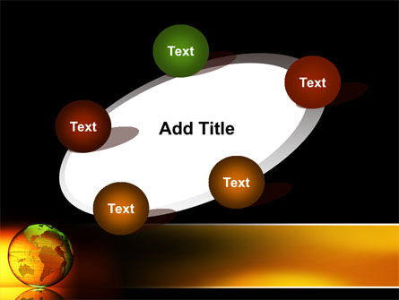 Crystalline World PowerPoint Template Slide 14