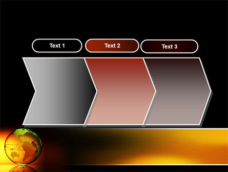 Crystalline World PowerPoint Template Slide 16