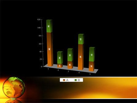 Crystalline World PowerPoint Template Slide 17